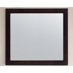 LAVIVA 313FF-3630E FULLY FRAMED 36 INCH MIRROR IN ESPRESSO