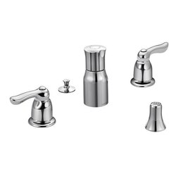MOEN TL5265 CHATEAU TWO-HANDLE BIDET FAUCET IN CHROME