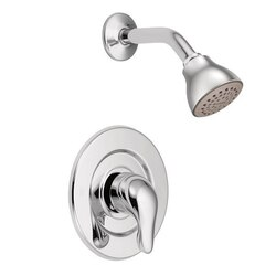 MOEN TL473 CHATEAU STANDARD PRESSURE-BALANCE SHOWER PACKAGE IN CHROME