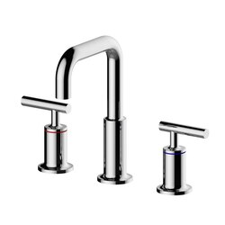INFURNITURE F-B1294LX1-BN BASIN WIDESPREAD FAUCET IN BRUSHED NICKEL