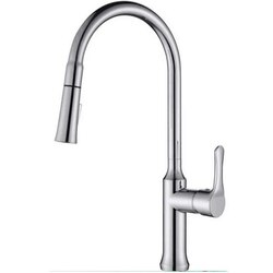 INFURNITURE F-K849QY1-ST PULL OUT KITCHEN FAUCET IN STAINED