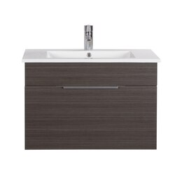 CUTLER KITCHEN AND BATH FV SB30 TEXTURES COLLECTION 30 INCH WALL MOUNT BATHROOM VANITY WITH TOP IN SPRING BLOSSOM