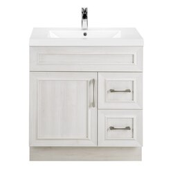 CUTLER KITCHEN AND BATH CCTRFH30RHT CLASSIC COLLECTION 30 INCH BATHROOM VANITY IN FOGO HARBOR