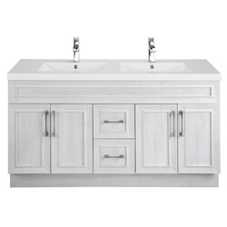 CUTLER KITCHEN AND BATH CCTRFH60DBT CLASSIC COLLECTION 60 INCH BATHROOM VANITY IN FOGO HARBOR