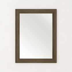 CUTLER KITCHEN AND BATH  FV DW MR TEXTURES COLLECTION 23 X 30 MIRROR IN DRIFTWOOD