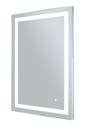 WARMLYYOURS MR-3624D-AUD AUDREY 36 X 24 INCH LED BACKLIT MIRROR - RECTANGLE