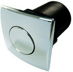 FRANKE WD930CH COUNTER MOUNTED SQUARE AIR SWITCH TO OPERATE CONTINUOUS FEED DISPOSERS - CHROME