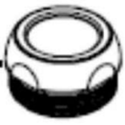 FRANKE 5-003-T1 COVER NUT FOR TYPE 1 FAUCETS