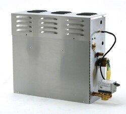 MR. STEAM CT12EC1-PC CT DAY SPA STEAM GENERATOR 12 KW 240V 1PH WITH ITEMPO PLUS CONTROL IN ROUND POLISHED CHROME