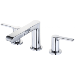 DANZE D304187 SOUTH SHORE TWO-HANDLE WIDESPREAD LAVATORY FAUCET WITH 50/50 TOUCH DOWN DRAIN, 1.2  GPM