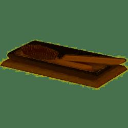 GEDY 1506-26 KYOTO BATHROOM TRAY IN WASHED OAK