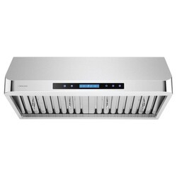 CAVALIERE AIR PRO AP238-PS13-30 30 INCH UNDER CABINET RANGE HOOD IN STAINLESS STEEL WITH REMOTE CONTROL