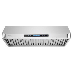 CAVALIERE AIR PRO AP238-PS15-36 36 INCH UNDER CABINET RANGE HOOD IN STAINLESS STEEL