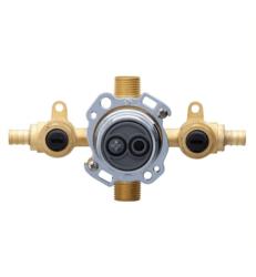 DANZE G00GS504S TREYSTA TUB AND SHOWER VALVE HORIZONTAL INPUTS WITH STOPS- CRIMP PEX