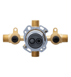 DANZE G00GS505S TREYSTA TUB AND SHOWER VALVE HORIZONTAL INPUTS WITH STOPS- IPS/SWEAT
