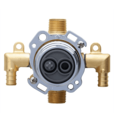 DANZE G00GS525 TREYSTA TUB AND SHOWER VALVE VERTICAL INPUTS WITHOUT STOPS- CRIMP PEX