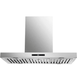 CAVALIERE CAV-Z01-I36 36 INCH ISLAND RANGE HOOD IN STAINLESS STEEL WITH TOUCH SENSITIVE CONTROLS