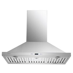 CAVALIERE SV218B2-I36 36 INCH ISLAND RANGE HOOD IN STAIN STEEL WITH TOUCH SENSITIVE CONTROLS