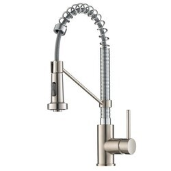 KRAUS KPF-1610SFS BOLDEN SPOT FREE SINGLE HANDLE COMMERCIAL STYLE PULL-DOWN KITCHEN FAUCET