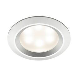 MR. STEAM LEDLITE-AS RECESSED LED LIGHT IN SATIN ALUMINUM