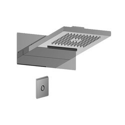 GRAFF G-8201-SP AQUA-SENSE 9-7/16 INCH DUAL-FUNCTION WATER FEATURE WITH LED IN STAINLESS POLISHED