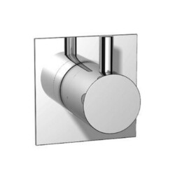 ISENBERG 100.4371 SERIE 100 3/4 INCH 3-WAY DIVERTER SHOWER VALVE AND TRIM - 3 OUTPUT - WITH VOLUME CONTROL