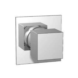 ISENBERG 160.4371 SERIE 160 3/4 INCH 3-WAY DIVERTER SHOWER VALVE AND TRIM - 3 OUTPUT - WITH VOLUME CONTROL