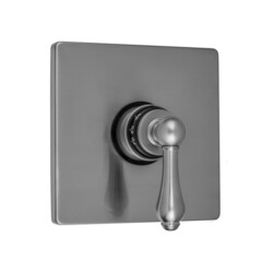 JACLO T476-TRIM SQUARE PLATE WITH REGENCY LEVER TRIM FOR THERMOSTATIC VALVES (J-TH34 AND J-TH12)