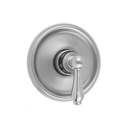 JACLO T536-TRIM ROUND STEP PLATE WITH REGENCY LEVER TRIM FOR THERMOSTATIC VALVES (J-TH34 AND J-TH12)
