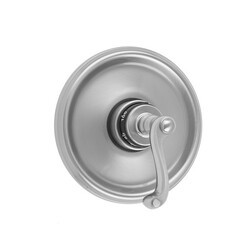 JACLO T537-TRIM ROUND STEP PLATE WITH RIBBON LEVER TRIM FOR THERMOSTATIC VALVES (J-TH34 AND J-TH12)