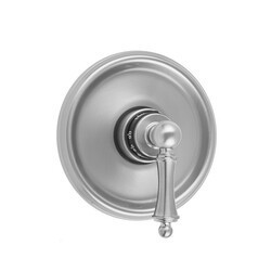 JACLO T539-TRIM ROUND STEP PLATE WITH BALL LEVER TRIM FOR THERMOSTATIC VALVES (J-TH34 AND J-TH12)