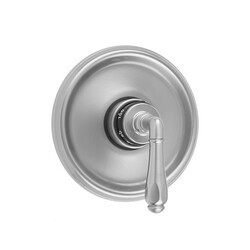 JACLO T574-TRIM ROUND STEP PLATE WITH SMOOTH LEVER TRIM FOR THERMOSTATIC VALVES (J-TH34 AND J-TH12)