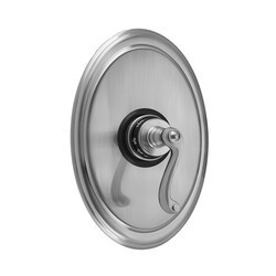 JACLO T737-TRIM OVAL PLATE WITH RIBBON LEVER TRIM FOR THERMOSTATIC VALVES (J-TH34 AND J-TH12)