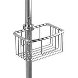 RIOBEL 275C 7/8  INCH X 1 INCH SHOWER RAIL BASKET IN CHROME