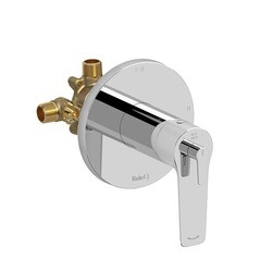 RIOBEL DJ93C 2-WAY TYPE T/P (THERMOSTATIC/PRESSURE BALANCE) COAXIAL COMPLETE VALVE IN CHROME