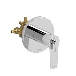RIOBEL DJ93C-SPEX 2-WAY TYPE T/P (THERMOSTATIC/PRESSURE BALANCE) COAXIAL COMPLETE VALVE IN CHROME