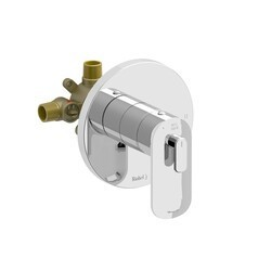 RIOBEL EV94C EVER 2-WAY NO SHARE TYPE T/P (THERMOSTATIC/PRESSURE BALANCE) COAXIAL COMPLETE VALVE IN CHROME