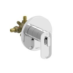 RIOBEL EV94C-EX EVER 2-WAY NO SHARE TYPE T/P (THERMOSTATIC/PRESSURE BALANCE) COAXIAL COMPLETE VALVE EXPANSION