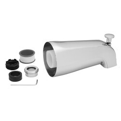 JACLO 3011-PCH 5-1/4 INCH DIVERTER TUB SPOUT IN POLISHED CHROME