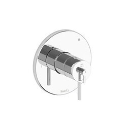 RIOBEL TGS47C 3-WAY NO SHARE TYPE T/P (THERMOSTATIC/PRESSURE BALANCE) COAXIAL VALVE TRIM IN CHROME