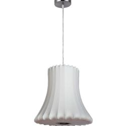 LEGION FURNITURE LM10915-18 18 INCH PENDANT LAMP IN WHITE