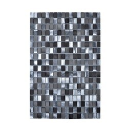 LEGION FURNITURE MS-ALUMINUM-19 MOSAIC WITH MIX ALUMINUM IN GRAY AND SILVER