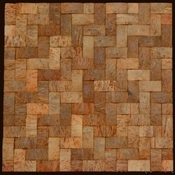 LEGION FURNITURE MS-COCONUT01 COCONUT TILE IN WALNUT