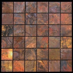 LEGION FURNITURE MS-COPPER18 MOSAIC TILE IN COPPER