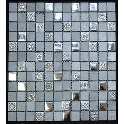 LEGION FURNITURE MS-MIXED06 MIX TILE IN GRAY