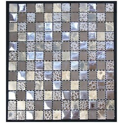 LEGION FURNITURE MS-MIXED10 MIX TILE IN BROWN