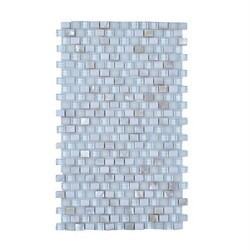 LEGION FURNITURE MS-MIXED29 MOSAIC MIX WITH STONE-SF IN OFF WHITE