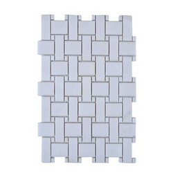 LEGION FURNITURE MS-STONE06 MOSAIC WITH STONE IN OFF WHITE