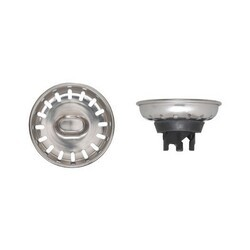 NOVANNI 41-0650-B STAINLESS STEEL COMPLETE STRAINER ASSEMBLY