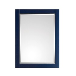 AVANITY 18123-M24-NBS MASON 24 INCH MIRROR IN NAVY BLUE WITH SILVER TRIM